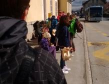 TD, 6. r, obisk srednje lesne šole